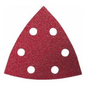 Šlif. popierius delta šlifuokliui; Red Wood-top; 93 V; K60; 5vnt.